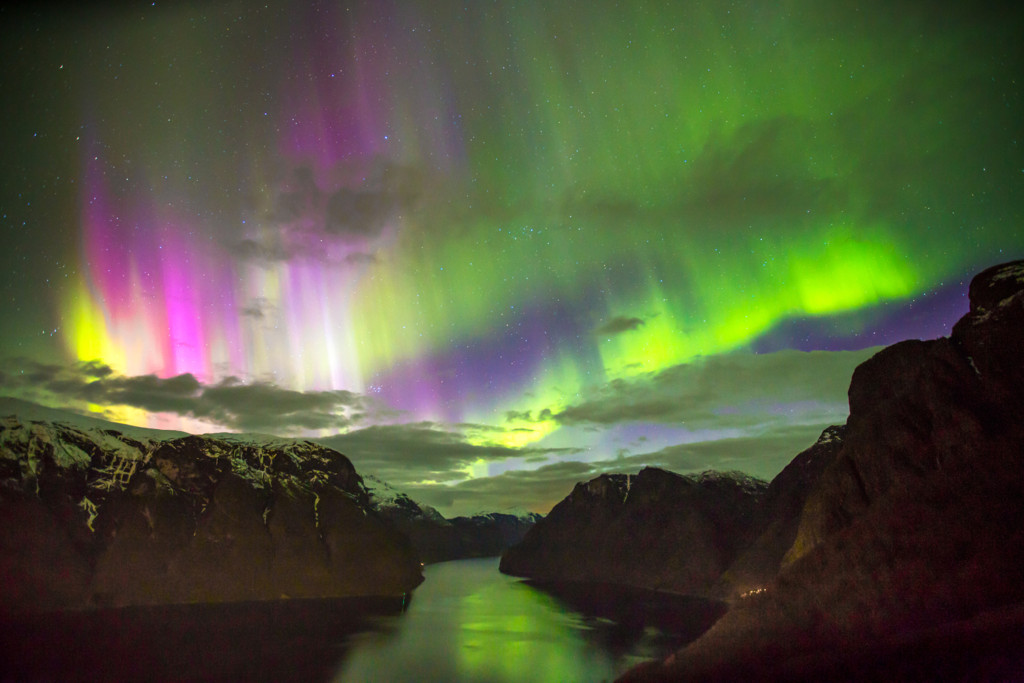 Aurora_Borealis_Over_The_Aurlandsfjord_By_Paul_Edmundson