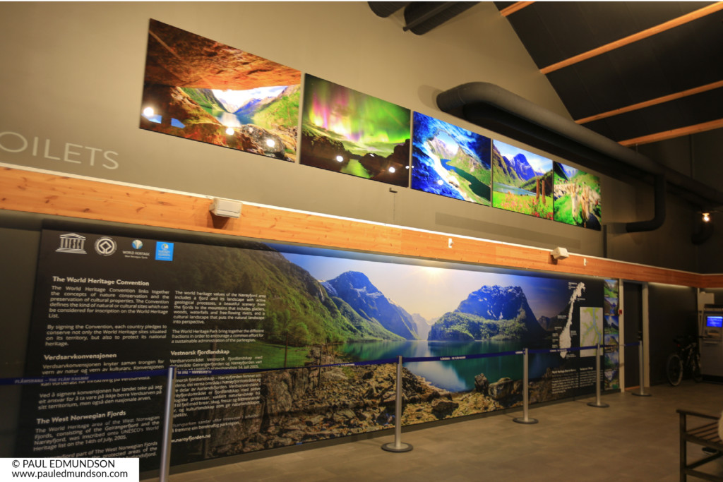 Naeroyfjorden World Heritage Park Exhibition Copyright Paul Edmundson